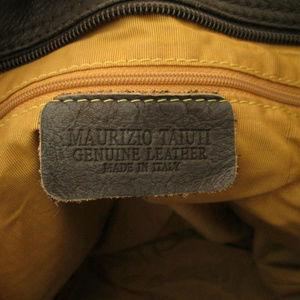 Maurizio Taiuti Bags - Maurizio Taiuti Leather Fur Messenger Crossbody